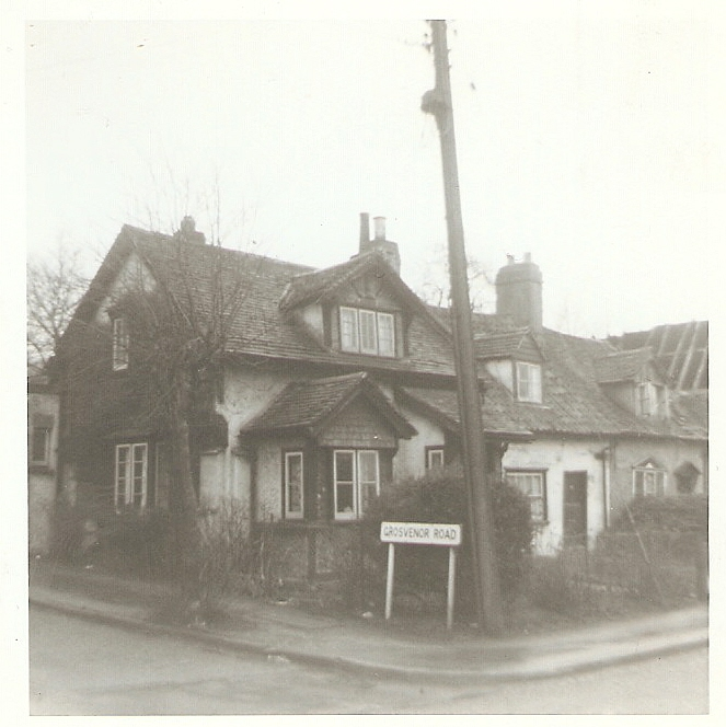 Corner of Grosvenor Road/Essex Way. c. 1965 | Celia Drew
