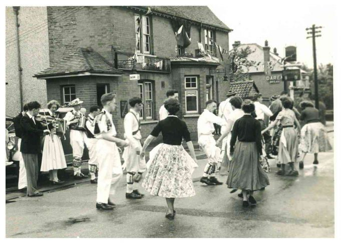 Coronation Day Tour - The White Hart, Thundersley | From the collection of Joan English nee  Phillips