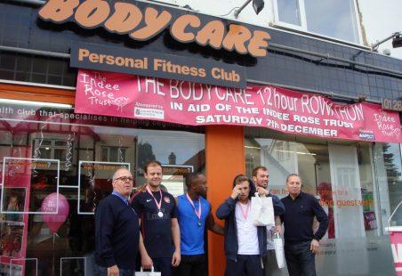 Charity Rowathon 2013 Raises £13,000