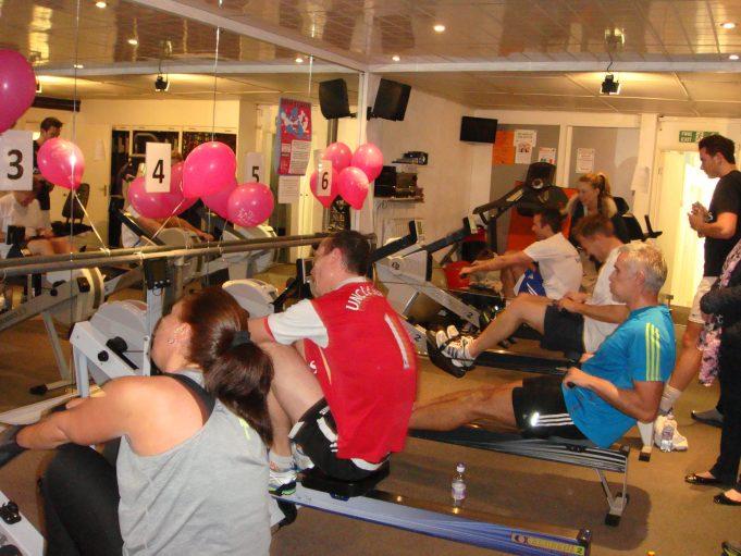 Charity Rowathon 2013 Raises £13,000 | Bodycare Personal Fitness Club