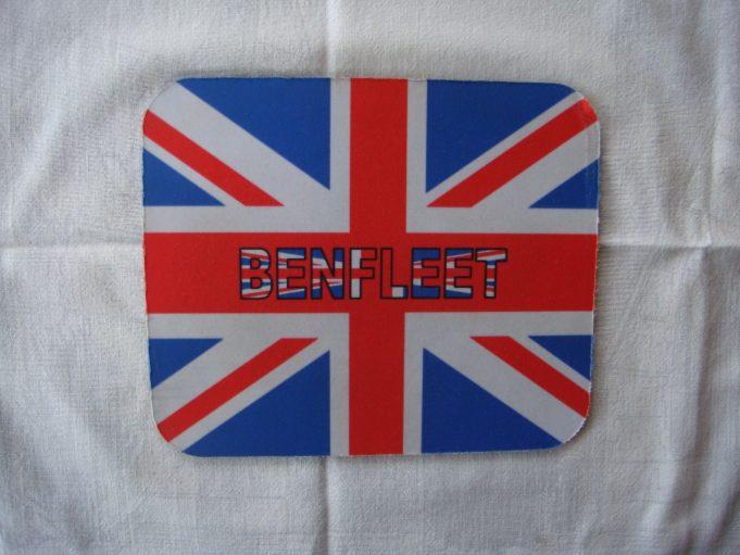Patriotic mouse mat