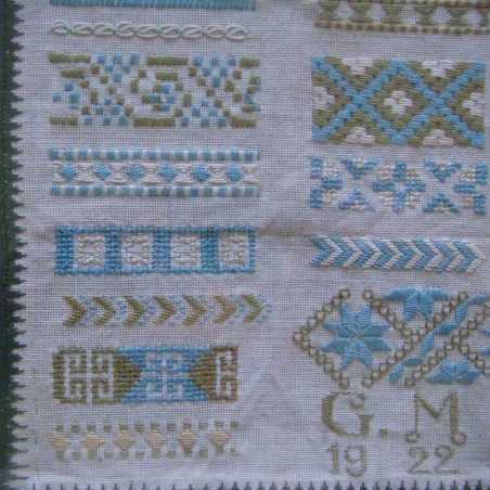 Sampler by 15 year old Gladys
