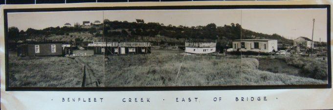 Benfleet Creek east of bridge  (1951) | from the Kean collection