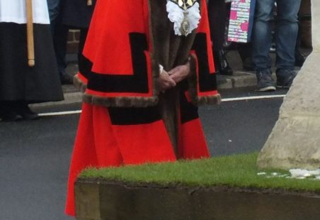 The Benfleet Wreaths laid on Remembrance Sunday 2014