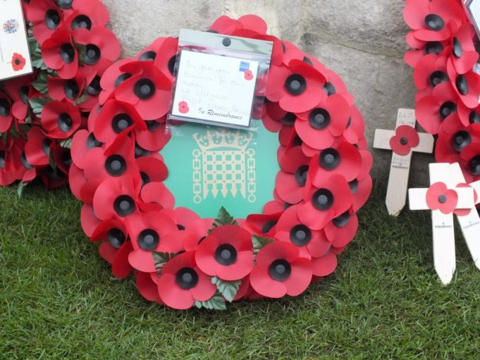 Mrs Rebecca Harris' MP wreath | Phil Coley