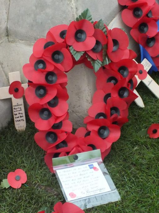 The Link Radio Trust wreath | Phil Coley