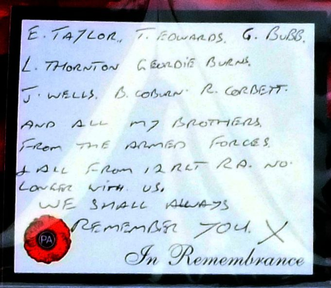 Formers members of 12th Regiment Royal Artillery message | Phil Coley
