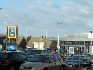 New Aldi store at Tarpots | Phil Coley