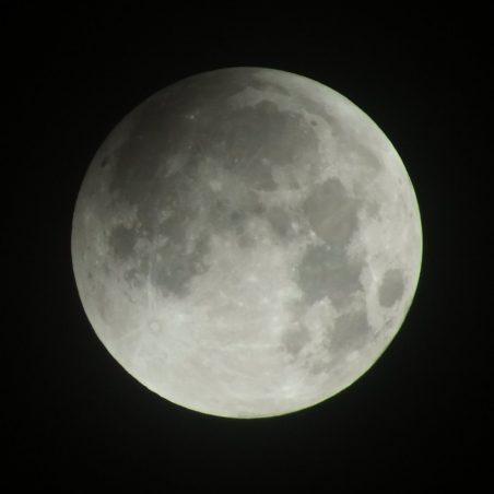 Full moon 1.57 am. FUJIFILM FinePix HS30EXR F/5.6 at 1/320 sec. | Phil Coley