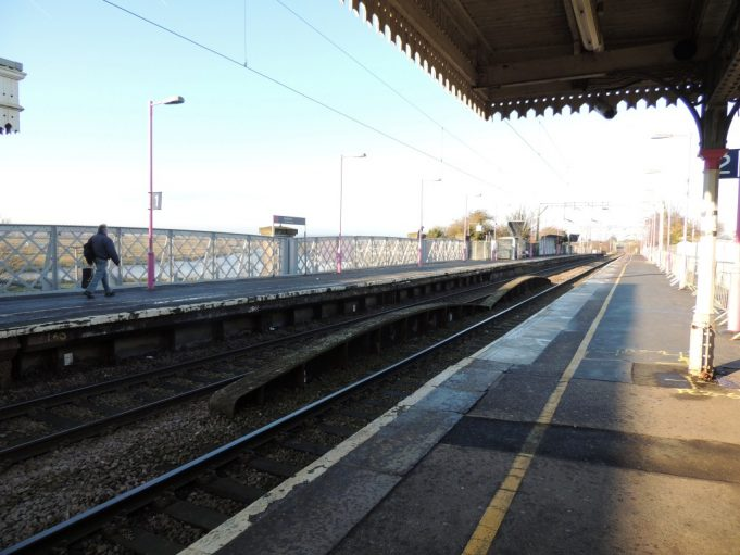 The 100 year old Ferrry Road bridge viewed from the station platform | Frank Gamble
