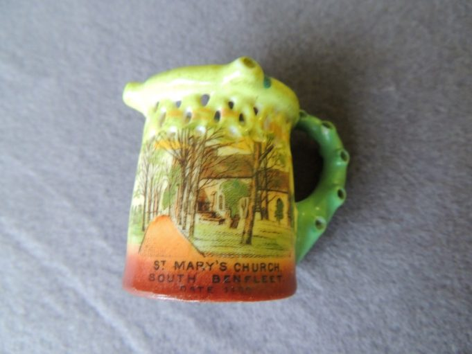 The side of the mug depicting St. Mary's Church | Frank Gamble