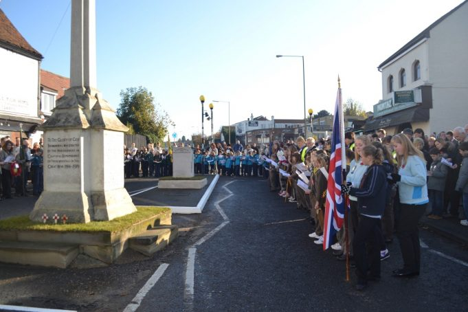 Remembrance Day Parade at the Benfleet War Memorial 2012 | From the collection of Melanie Graham