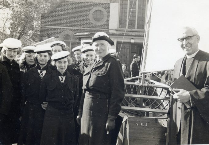 Dedication and Naming of the Ranger Sailing Boat, 19th October 1957 | From the collection of Melanie Graham