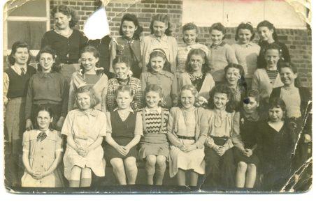 Doreen Bartlett's School Days - From 1941