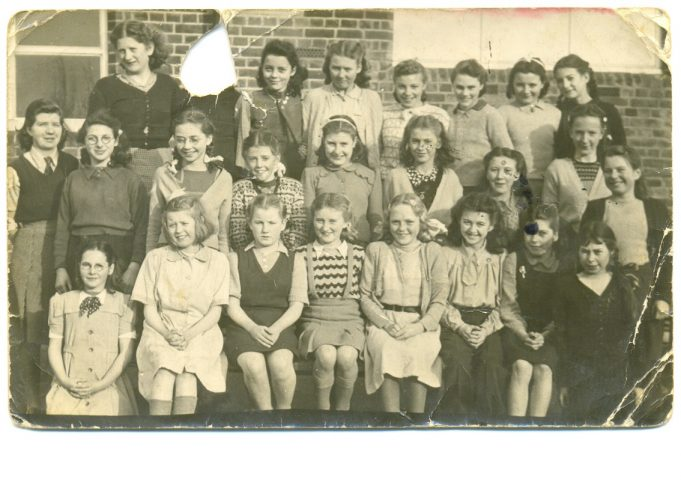 Doreen Bartlett's School Days - From 1941
