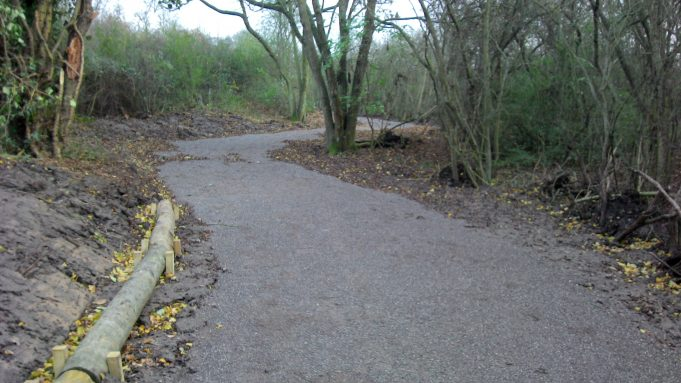 The new path along The Downs | Dave Cowan