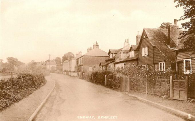 Old Cottages demolished 1961 | R.F. Postcards