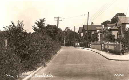 Corner of Highcliff Road | R. F. Postcards