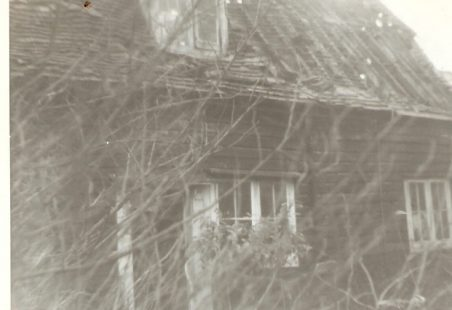 Cottages in Essex Way, January 1965
