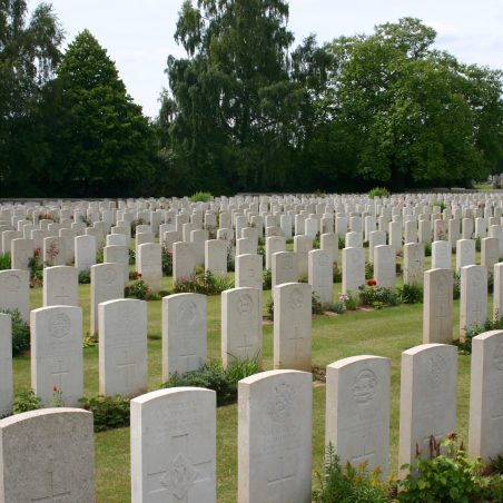 Peronne Communal Cemetery Extension.  France. | Copyright.  The War Graves Photographic Project.
