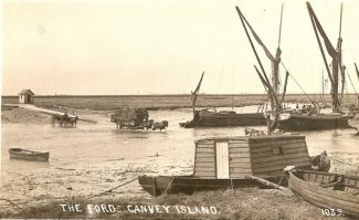 Thames barges | R F Postcards collection