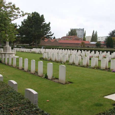 Lille Southern Cemetery.  France. | Copyright.  The War Graves Photographic Project.