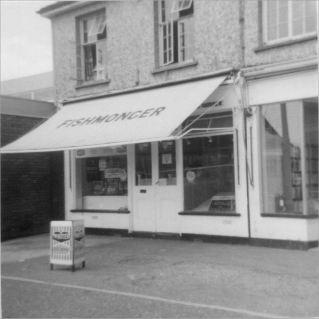 Fish Shop July 1969