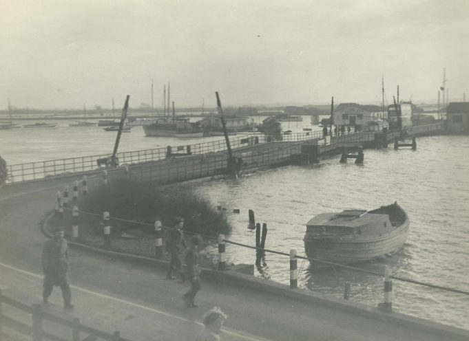 Canvey Bridge.   Gilbert Wines