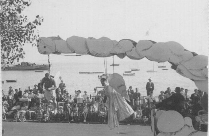 Eddy Barber and Curly Ford - Flying Angels on Western Esplanade | RBB
