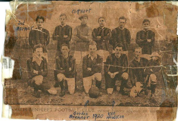 A Benfleet Football team  1920 | Paddy Marrison