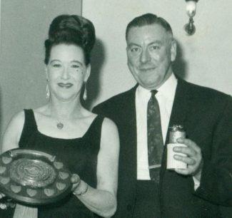 My mum and dad, Frank & Florrie Hagon c.1950 | Bernard Hagon