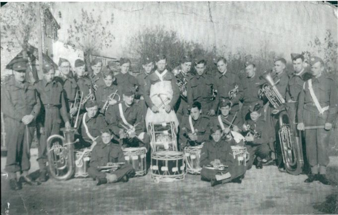 2nd Battalion Essex Regiment Cadet Force Band 1942