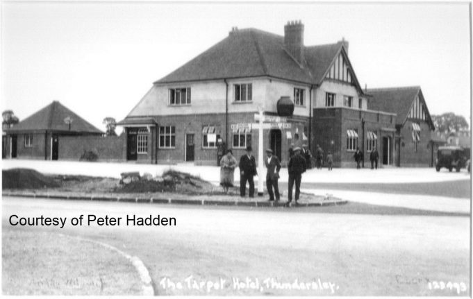 The Tarpot Hotel the date is thought to be late 1930's | Peter Hadden