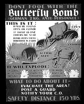 What to do about German Butterfly Bomb