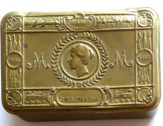 The embossed brass box Christmas gift | Jane Oliver collection
