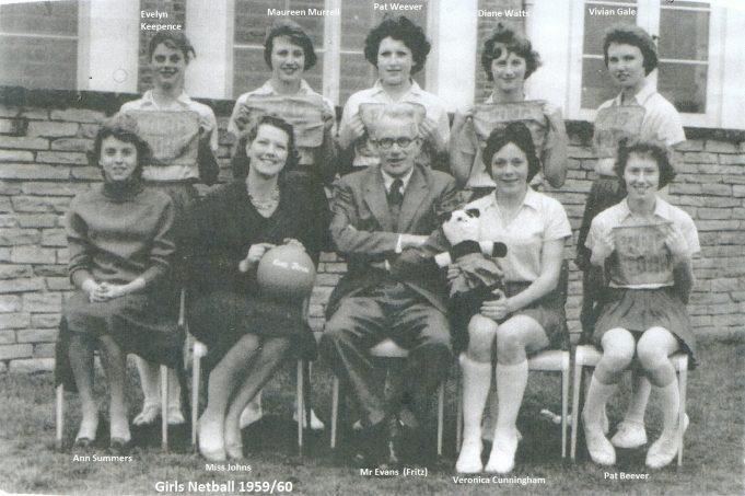 Girls Netball Team 1959/60 | Ann Morrison collection