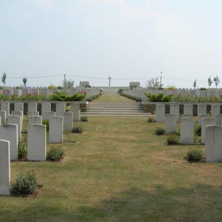 Passchendaele New British Cemetery.  Belgium. | Copyright.  The War Graves Photographic Project.