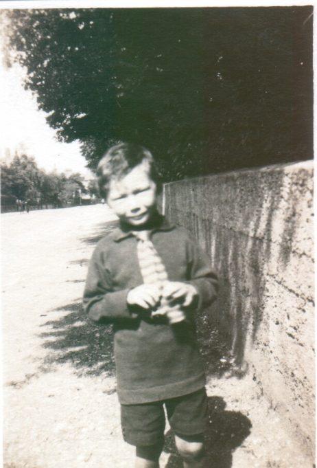 Gwynne Williams as a child   Anne Harley
