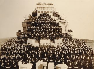 HMS London ship's company | From Mr Joyce's collection