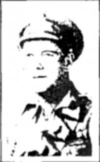 Gunner Herbert Henry Newman | Southend Standard 11th April 1918