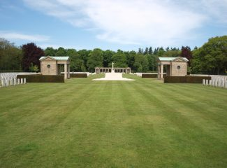 Rheinberg War Cemetery. | Copyright.  The War Graves Photographic Project.