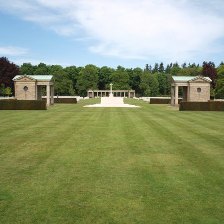 Rheinberg War Cemetery.  Germany. | Copyright.  The War Graves Photographic Project.