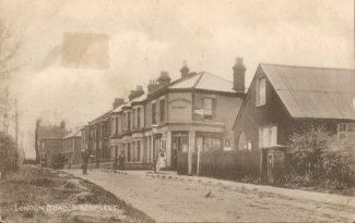 Early photo of Hopes Green Stores