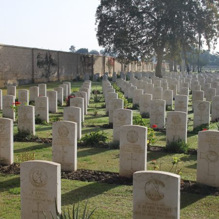 Tel El Kebir War Cemetery. | Copyright.  The War Graves Photographic Project.