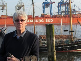 Adrian Chapman during a recent visit to Hamburg. | Adrian Chapman