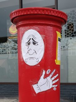 Even the postbox is unhappy | Phil Coley