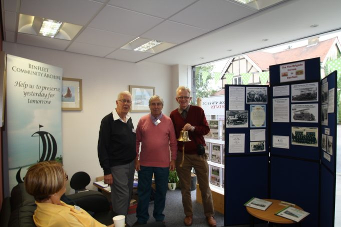 Archive members: Mike Day, John Downer and Phil Coley