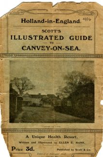 The cover of the guide dated 1906