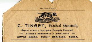 A Benfleet advert in the guide