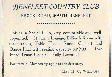 Benfleet Tennis Club